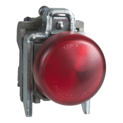 SEÑAL LUMINOSA METALICA ROJO LED 24VCA/CC XB4