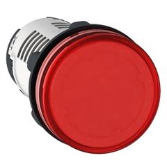 SEÑAL LUMINOSA PLASTICA ROJO LED  24VCA/CC XB7