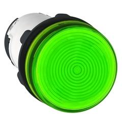 SEÑAL LUMINOSA PLASTICA VERDE  S/LAMPARA XB7