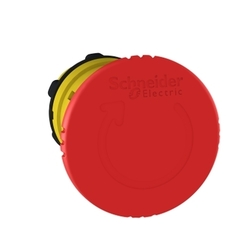 CABEZAL P/GOLPE DE PUÑO PLASTICO ROJO DIAM 40MM