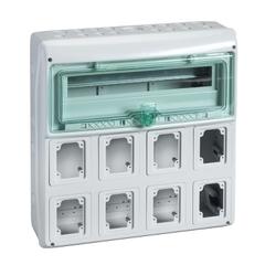 GABINETE P/8 TOMAS 18 MOD 160X460X448MM IP65