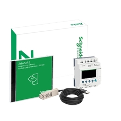 ZELIO LOGIC KIT (SR2B121BD + SOFT + CABLE)