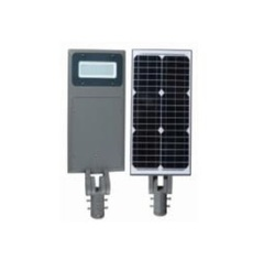LUMINARIA SOLAR LED 60W P/ALUM PUB C/BAT LI-ION Y PANEL