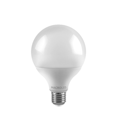 LAMPARA LED GLOBO E27 14W/860 BCO FRIO 200º