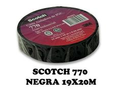 CINTA AISLADORA PVC 20 MTS NEGRA 770 SCOTCH