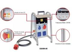 CUADRO DISTRIBUCION PVC  ARMADO IP66 CABLEADO C/ PROTEC ITM-