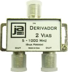 DERIVADOR CATV 2 VIAS 5-1000 MHZ