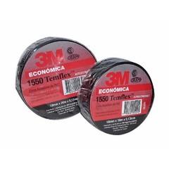 CINTA AISLADORA PVC 10 MTS NEGRA 1550 TEMFLEX 1