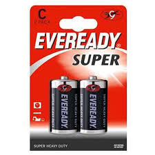 BLISTER PILA MEDIANA C BP2 CARBON EVEREADY