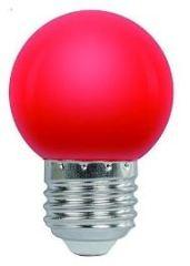 LAMPARA LED GOTA E27  1.2W  ROJA