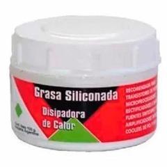 GRASA SILICONADA DISIPADORA DE CALOR POTE X 100GRS