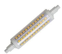 LAMPARA LED CUARZO 9W/865 BCO FRIO RX7 118MM P/CUARZO 500