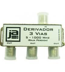 DERIVADOR CATV 3 VIAS 5-1000 MHZ