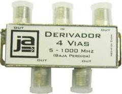 DERIVADOR CATV 4 VIAS 5-1000 MHZ