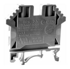 BPN BORNE DE PASO P/CABLE  6.0MM NEGRO