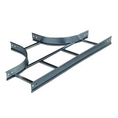 UNION T ESCALERA GALVANIZADA 600MM 92MM
