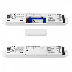 KIT EMERGENCIA P/LUMINARIA C/DRIVER EXT 12/60W 1.5/4HRS 6 BAT 1 LITIO-ION 3.7V/2.5AH