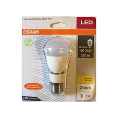 LAMPARA LED E14 E27 HONGO  3.5W  CALIDA 830