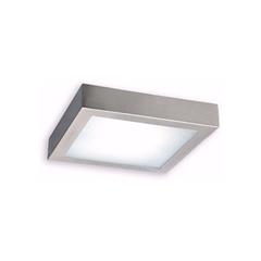 PLAFON  LED 6W/840 NEUTRO CUADRADO  120X120MM  780LM NIQUEL
