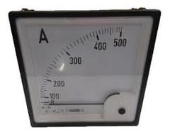 AMPERIMETRO  500/5 CL 1.5  96X96
