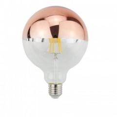 LAMPARA LED GLOBO E27 4W/830 DECO SHADE CROMO