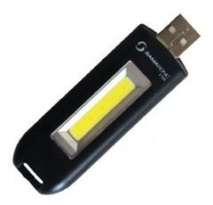 LINTERNA LED PVC  COB 60LM BAT LI-ION C/USB