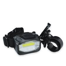LINTERNA LED COB 200LM P/BICICLETA C/SOPORTE