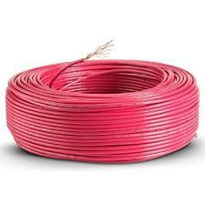 CABLE UNIPOLAR 2.50MM ROJO X 100 MTS