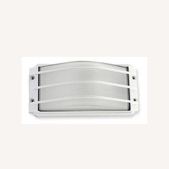 APLIQUE 1L E27 75W PARED VIDRIO BLANCO