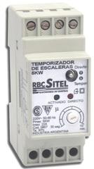 AUTOMATICO  ESCALERA 3000W P/RIEL DIN -APTO LED