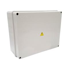 CAJA CONEXION PVC IP65 210X310X165MM  GRIS