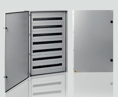GABINETE ESTANCO 750X750X210MM P/128 DIN IP65 FORARK