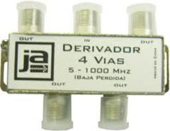 DERIVADOR CATV 4 VIAS  5-900 MHZ COMPLETO