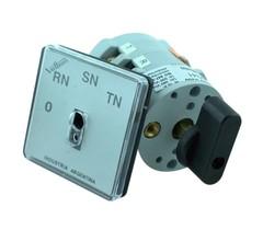 SELECTORA 16A  VOLT P/MED 0-RS-RT-ST 0/240