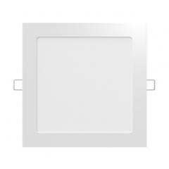 EMBUTIDO LED 12W/830 CALIDO CUADRADO  BLANCO 165X165MM