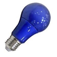 LAMPARA LED E27 5W AZUL