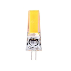 LAMPARA LED BIPIN 2W G4  DIM COB 12V CALIDA