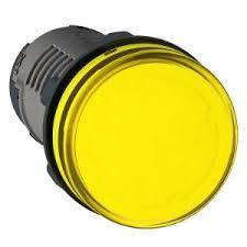 SEÑAL LUMINOSA PLASTICA LED AMBAR 24VCA/CC IP40