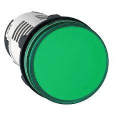 SEÑAL LUMINOSA PLASTICA VERDE LED  230VCA -HASTA AGOTAR ST-