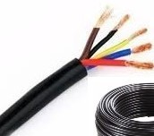 CABLE TALLER 5X4MM ROLLO  X 100 MTS