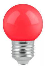 LAMPARA LED GOTA E27 ROJA