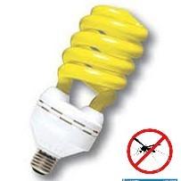 LAMPARA BAJO CONSUMO 15W ANTIINSECTO TWISTER