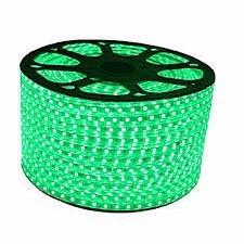 MANGUERA LED VERDE 5050 220V  X MTS