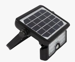 PROYECTOR SOLAR LED 5W 1080lM 4000k C/BAT 3.7V/3000mAh C/SENSOR 120°