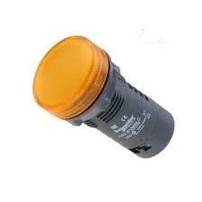 SEÑAL LUMINOSA PLASTICA AMBAR LED 220VCA