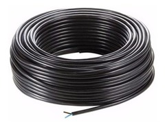 CABLE UNIPOLAR 1MM NEGRO X 100 MTS