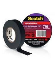 CINTA AISLADORA PVC 20 MTS BLANCA 770 SCOTCH