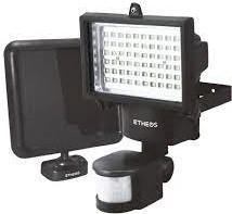 PROYECTOR LED 60W SOLAR  C/SENSOR  C/BAT LI-ION 3.7V