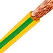 CABLE UNIPOLAR 35MM BICOLOR  X MTS