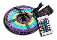 KIT RGB CINTA 5MTRS+DRIVER+CONTROL